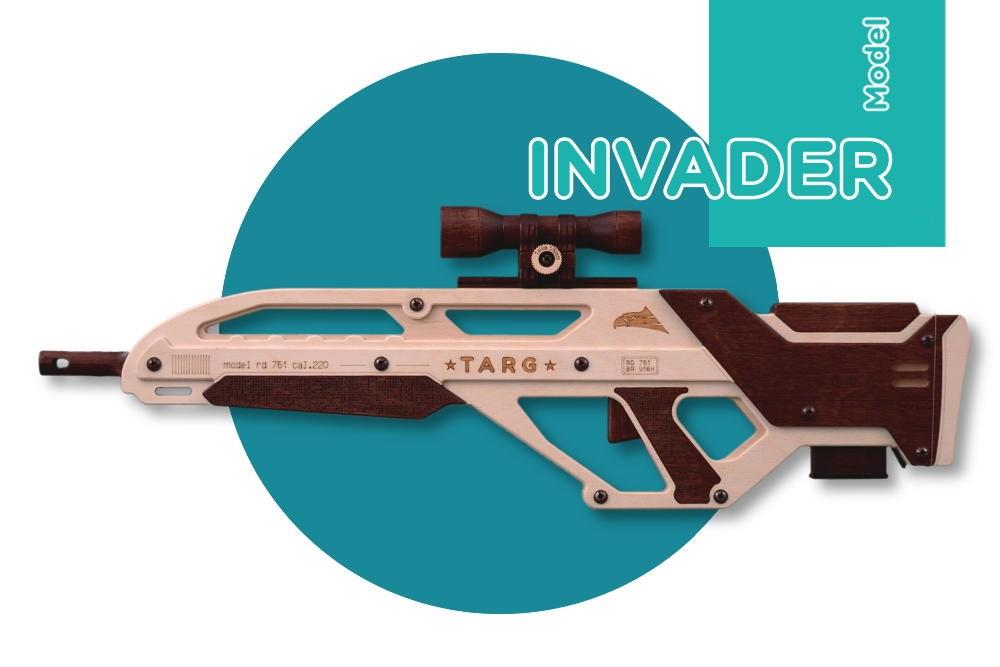 Сборная модель T.A.R.G. INVADER